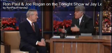 Ron Paul on Jay Leno