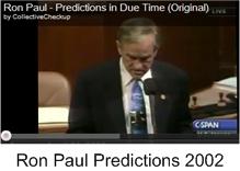 Ron  Paul Predictions 2002