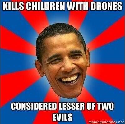 Obama Kills Children