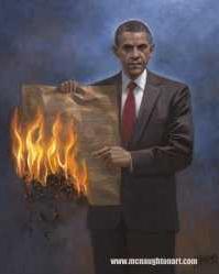 Obama burns USC